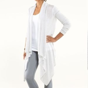 Lululemon Universal Wrap Heathered White First Released